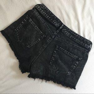 Bullhead Shorts - Bullhead high rise shorts